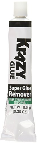 ELMER'S PRODUCT KG87048R Krazy Glue Remover, 8.5g