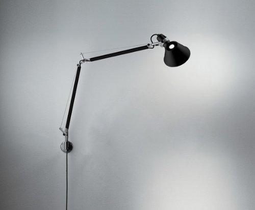 Artemide tolomeo parete halo nero amazon illuminazione