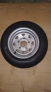 ShoreLand'r 4300290 Tire T Silver Mod 4.80 x 12 LR-B by ShoreLand'r