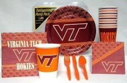 (Virginia Tech Hokies Party Supplies Pack)