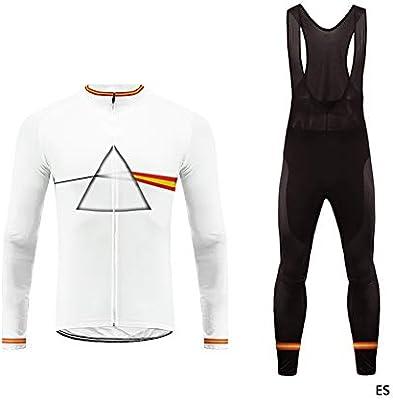 Uglyfrog Conjunto Ciclismo Moda Hombre Invierno/Otoño 3D Cojín ...
