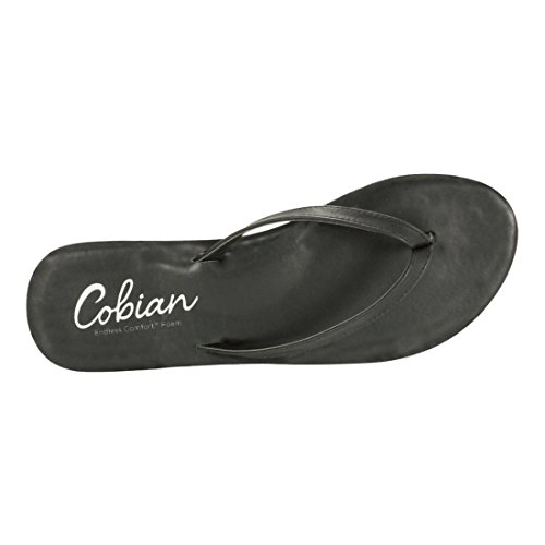 Cobias Womens Women Nias Flip-flop Zwart