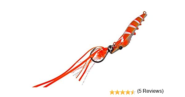 Candy Shrimp Fiiish (45mm 15g - Orange Fight): Amazon.es: Deportes ...