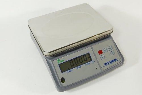 Tree Scales MCT 16 Counting Scale - 16 Lbs X 0.0005 Lbs - Rechargeable! With 2 Year Warranty!s by Tree