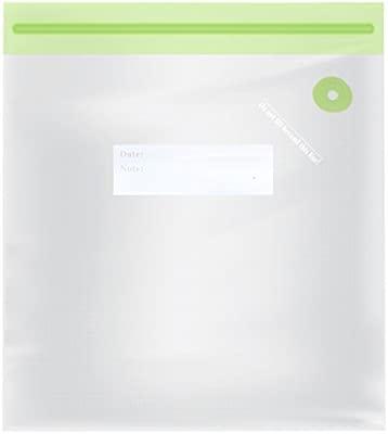 TM Electron TMVAC275 Kit de 10 Bolsas Zip para Envasar Al Vacío Reutilizables