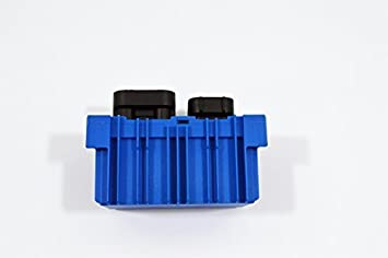 55557760: Relé de bujía de incandescencia/Momento Unidad De Control (azul) - nuevo desde LSC: Amazon.es: Coche y moto