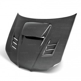 SEIBON 06-07 Impreza/WRX/STi Carbon Fiber Hood CWII GD