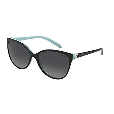 00b0e953efdf Tiffany And Co. Women's Polarized TF4089B-8055T3-58 Blue Butterfly  Sunglasses