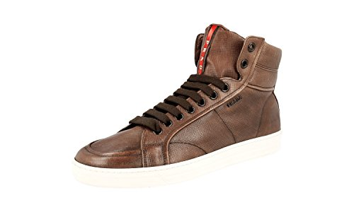 Prada Mens 4T2596 Leather Sneaker GkiT2MSfG