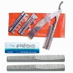 Diamond Edge Hair Styling Razor Kit by Diamond Edge
