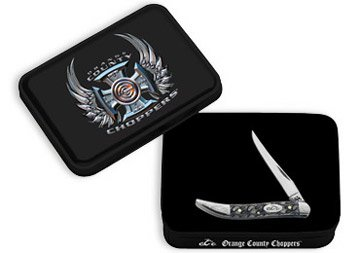 Case Cutlery Orange County Choppers Tapper w/Gift Tin #6908