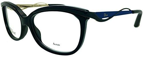 Pour Montures Femme lunettes Eyes Dior de Black Tortoise Blue Dior rUFrxHw