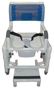 Sammons Preston Deluxe Adjustable Shower and Commode Chair