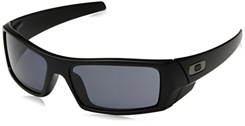 Oakley Gascan Sunglasses Matte Black with Warm Grey Lens ()