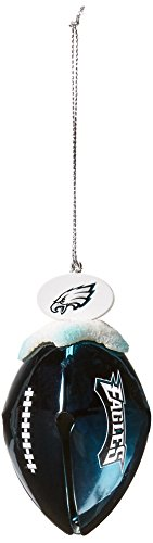 Topperscot by Boelter Brands NFL Metal Football Bell Ornament