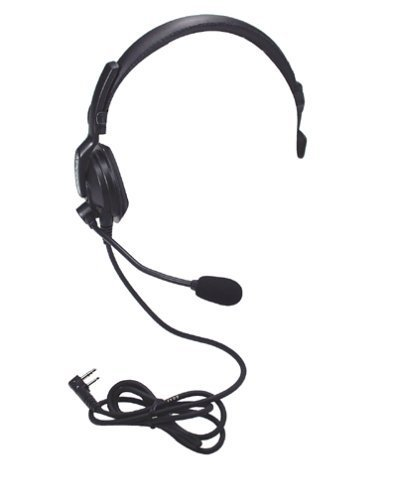 Kenwood KHS7 Single Muff Headset with Boom Microphone by Kenwood