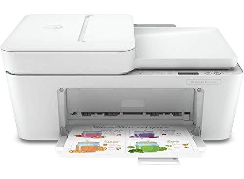 🥇 HP DeskJet Plus 4120 – Impresora multifunción con Wi-Fi de doble banda y restablecimiento automático