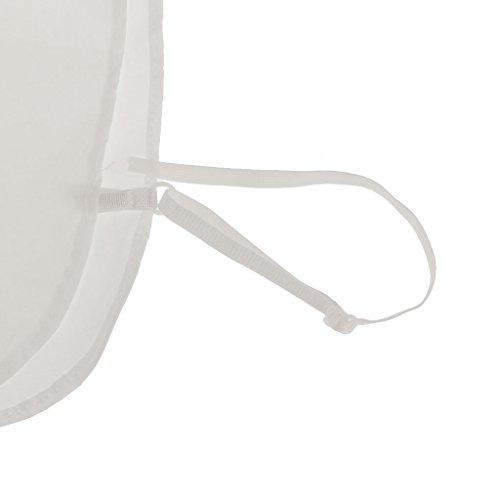 5 Amovible Demi Chemises Blanc Blanc Coton Gazechimp Blouse 10 Col Faux de Femme Ornements Col aFnYHq7