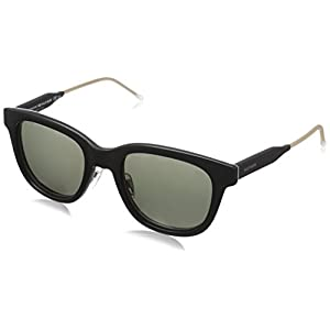 Tommy Hilfiger Th1352s Wayfarer Sunglasses, Black Gray Havana/Gray Green, 51 mm