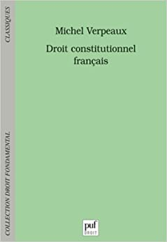 Book Droit constitutionnel français