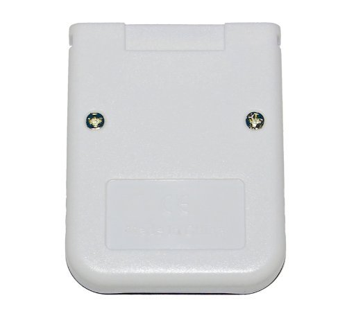 Assecure 16MB memory card for Nintendo Wii & GameCube NGC GC console 251 block white retail pack - LIFETIME warranty