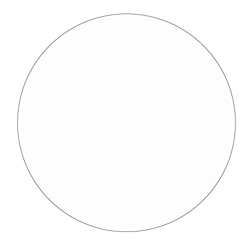 - Wissmach Clear 10 inch Circle - 96 Coe