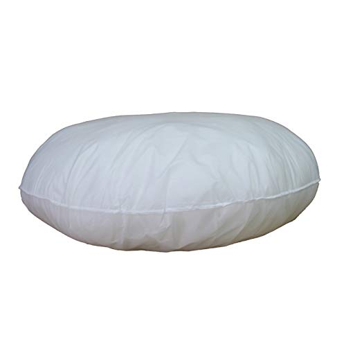"IZO All Supply 32"" Round Sham Stuffer Hypo-Allergenic Poly Pillow Form Insert"