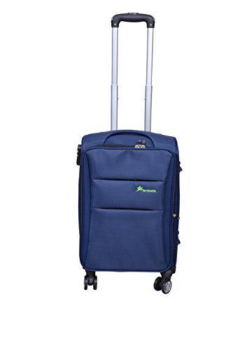 PARGEE Exclusive Stylish Blue Fabric 20 INCH Check in Luggage Trolley Bag