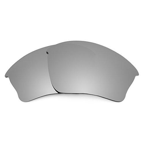 Revant Polarized Replacement Lenses for Oakley Half Jacket XLJ Titanium MirrorShield ()