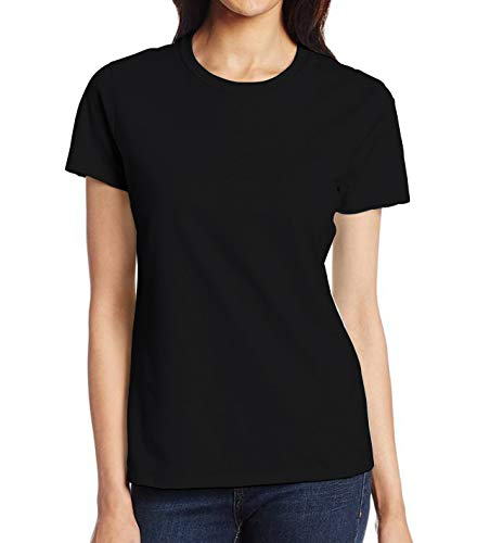 Miracle(Tm) Underscrub Undershirt T Shirts for Women - Adult Black Workout Shirt (M) ()
