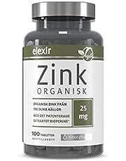 Elexir Pharma Zink Organisk - för Immunsystemets normala funktion