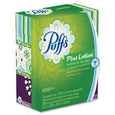 - Procter And Gamble Facial Tissues w/Lotion, Puffs+, Fam Pak, 3/PK, WE, Sold as 1 Package