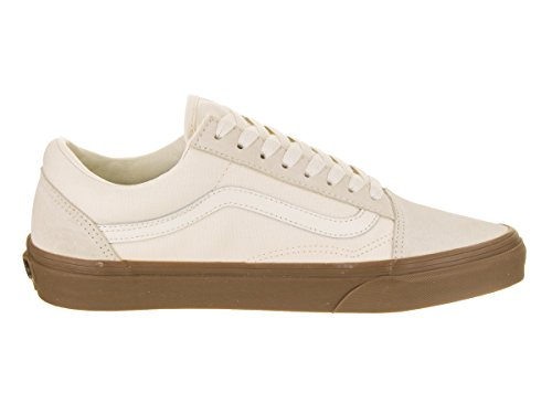 Canvas Unisex Suede Vans Gum Adulto Skool U Zapatillas White Old qSTvw0