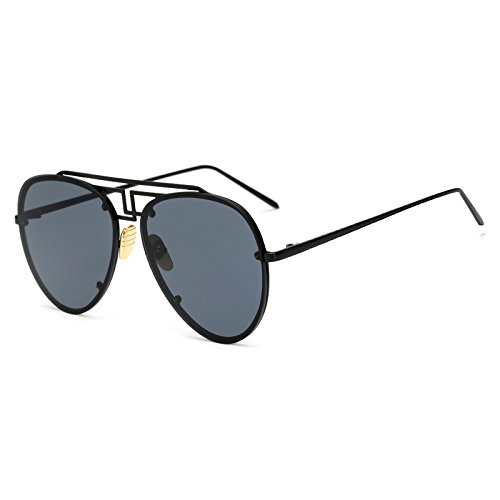 Amarillo llanta Gafas Océano de Gafas para Sol Hombres de piloto C1 Mujer Gafas de C8 Mujeres Las Moda AM3470 Verano TL Sunglasses Tendencia sin Lente Tinte AM3470 de los qxwaz7H