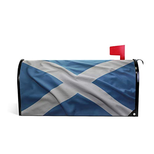 Printedin3D Scottish Flags Magnetic Mailbox Cover for US Standard Size