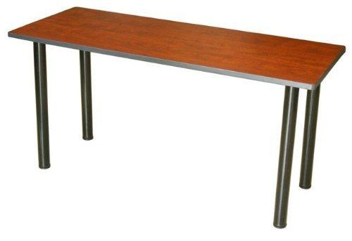 Boss NTT2436-C Training Table Tops with Grommet 36W X 24D inch Cherry Boss Office Corner Table