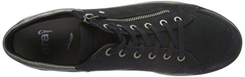 Ara Signore Rom-stf 12-44410 Alte Scarpe Da Tennis Blu (blu, Pistola 09)