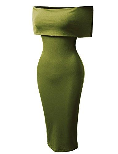 H2H Womens Casual Sleeve Bodycon