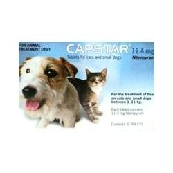 Capstar 11.4mg Tabs (Flea treatment)