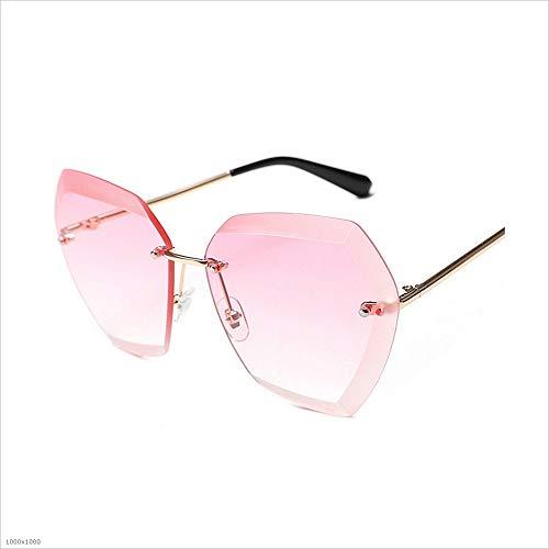 Protection UV Soleil Sunglasses Soleil Color Pink de Soleil Driving Infinity Lunettes Bright Lunettes Personnalité de Joo Le de Couleur Lunettes Jaune fwqppX