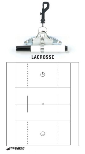 Champro Lacrosse Coach's Board (White, 12 x 9-Inch) by CHAMPRO