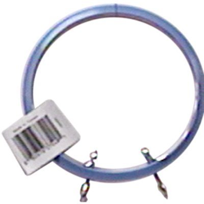 Darice 2-Piece Spring Tension Hoops, 5-Inch, Blue and Mauve by Darice