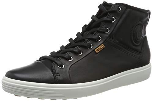 Ecco   Womens Soft VII High Top Ankle Bootie, Black, 41 EU/10-10.5 M US (Boots Ecco Kids)
