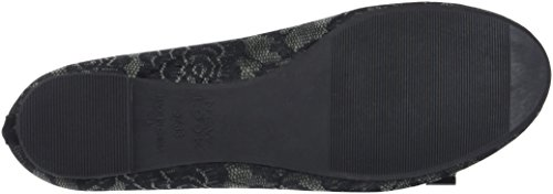 New Black Chiusa Blrna Look Vlvt 1 Jark Lace Nero Donna Punta Ballerine vSqvArx