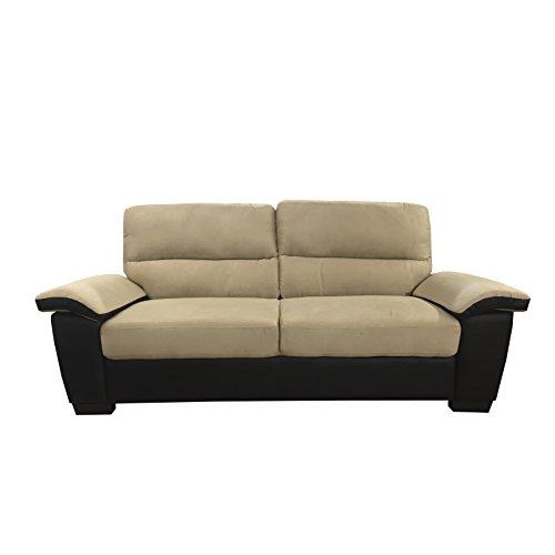 Roma Leather Sofa: Amazon.com: Madison Home Divano Roma Classic Soft