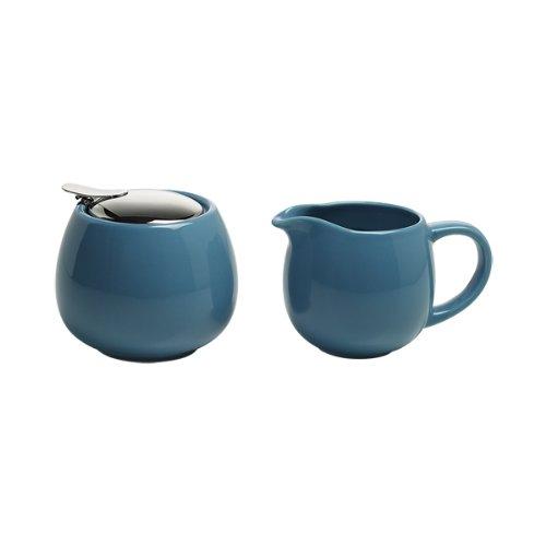 en Estuche Regalo Color Azul Maxwell /& Williams InfusionsT IT20996 Juego de Jarra de Leche y azucarero