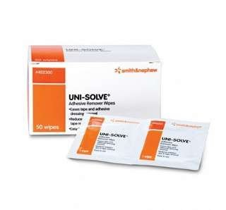 De-Solv-it! 30037 Orange Sol 50 Count Medi-Sol Adhesive Remover Wipes