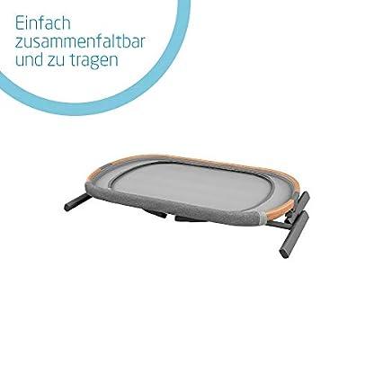 Maxi-Cosi Iora-Beistellbett mit weicher Matratze, Reisebett einfach zusammenfaltbar und höhenverstellbar, geeignet ab der Geburt, 0 Monate - 9 kg, Essential Grey (grau) 2