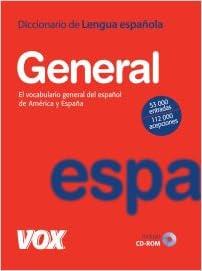 Dicc. General de la Lengua Española Vox - Lengua Española ...