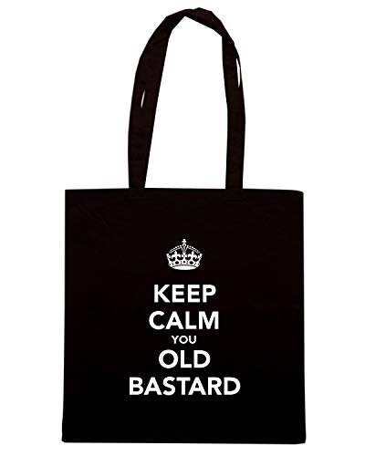 Borsa KEEP Shopper YOU BASTARD CALM Shirt OLD TKC3323 Speed Nera 5x7EwBXZq